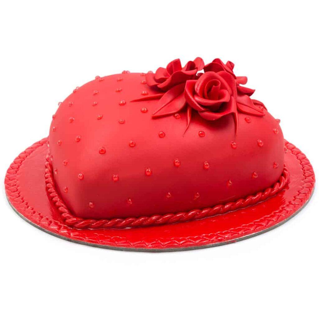 DEW HEART CAKE 2 LB