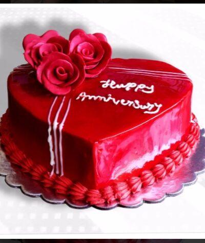 LOVE ROSE CAKE