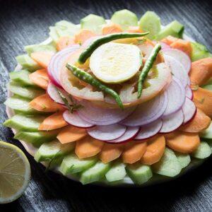 Salad & Papad