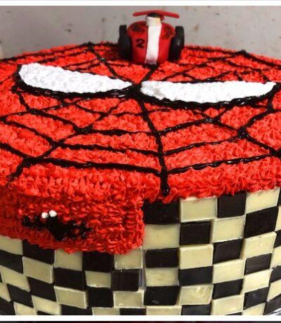 SPIDER DESIGN CAKE 2 LB