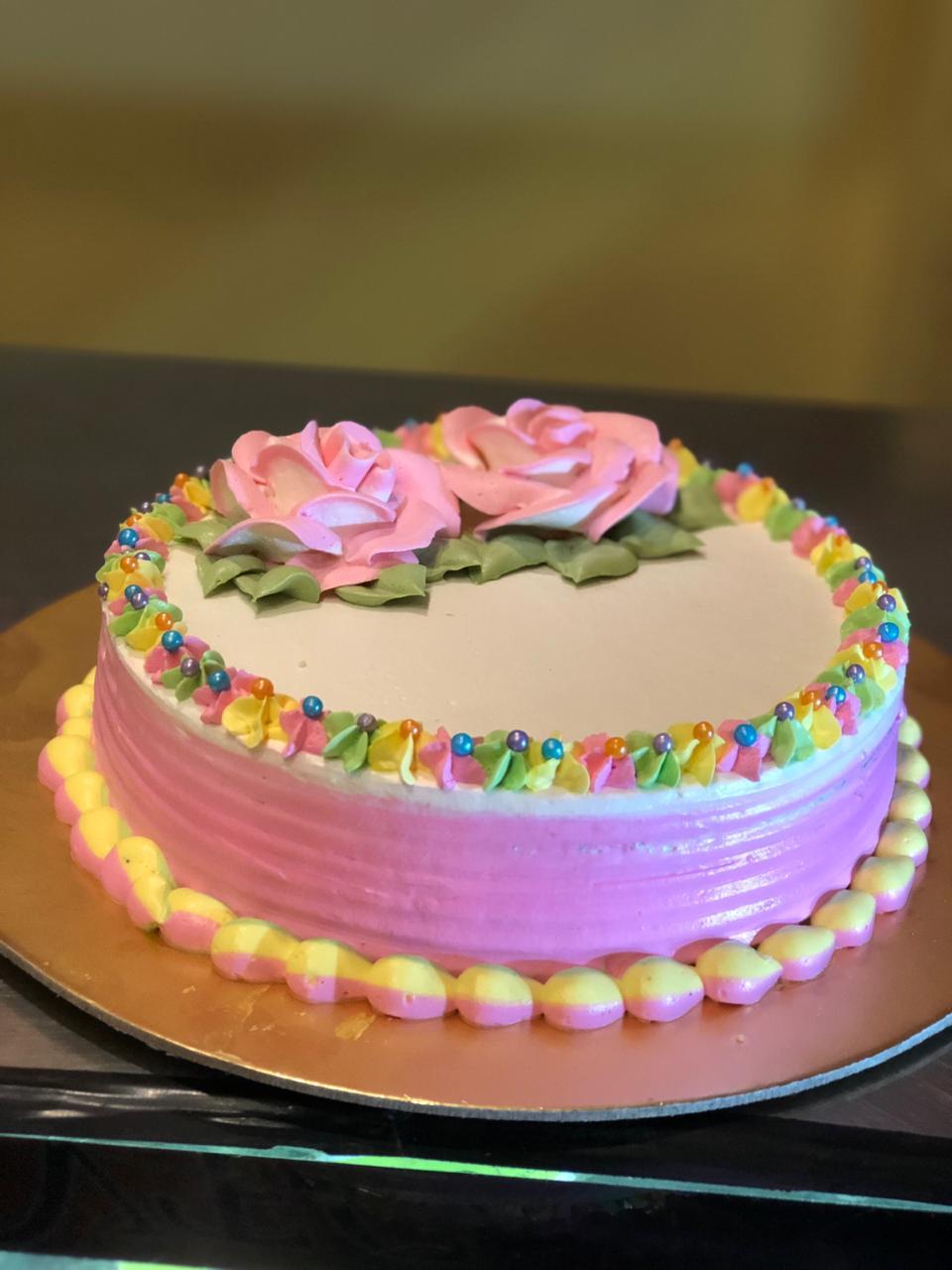 VANILLA CAKE 1 LB