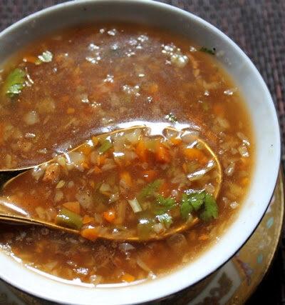 VEGETABLE HOT & SOUR SOUP