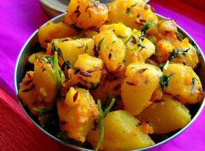 Aloo Jeera is a good snack for every age